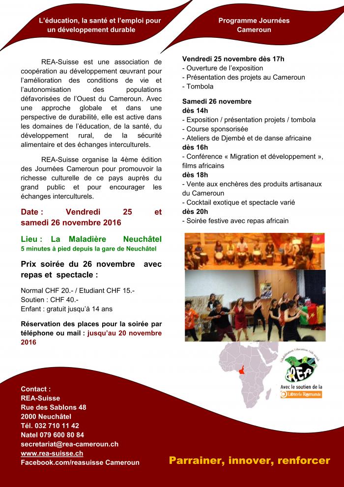 4eme édition des journees Cameroun